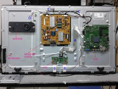 Keçiören Led Tv Elektronik Kart Düzeni