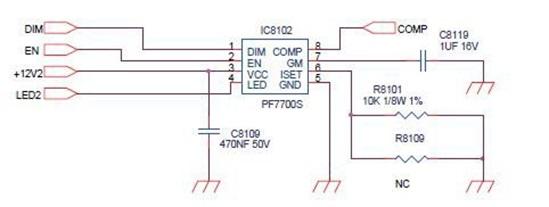 Keçiören Tv LED sürücü devresi