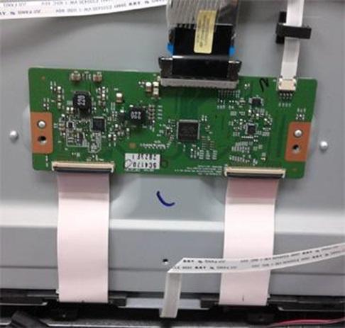 Keçiören Tv LVDS kartı ve bağlantı kabloları
