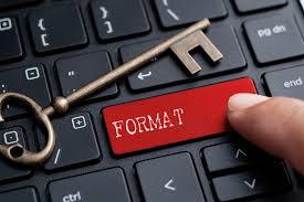 Bilgisayar format keçiören
